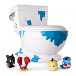 Flush Force – Series 1 – Collect-A-Bowl Stash 'n' Store Case for 4 Exclusive Flushie Figures