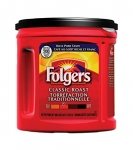 Folgers Classic Roast Ground Coffee 920g