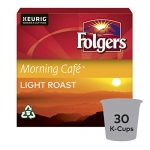 Folgers Morning Café K-Cup Coffee Pods 30 Count