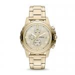Fossil Men's Dean Stainless Steel Quartz Dress Chronograph Watch