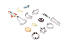 Fox Run 3700 Astronomy Cookie Cutters Set of 7