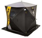 Frabill HQ 200 Hub Ice Shelter, 70 x 70 x 80-Inch