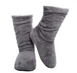 FRALOSHA Women's Bootie Slippers with Anti-Slip