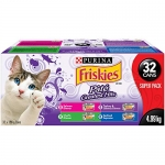 Friskies Purina Pate Greatest Hits Cat Food Super Pack, 32 x 156 g Cans