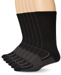 Fruit of the Loom Men's Sport 6 Pack Half Cushion Crew Sock
