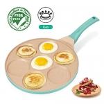 FRUITEAM Blini Pancake Pan Nonstick Griddle,10 Inch