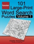 Funster 101 Large-Print Word Search Puzzles, Volume 1