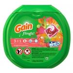 Gain Flings Laundry Detergent Packs, Tropical Sunrise Scent, 57 Count
