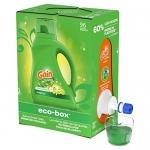 Gain Laundry Detergent Liquid Eco-Box, Original Scent, 96 Loads