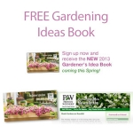 Free Gardener's Ideas Book