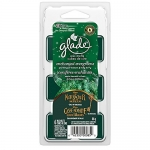 Glade Holiday Collection Wax Melts Refills, Enchanted Evergreens, 6 Count