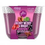 Glade Holiday Triple Wick Candle – Berry Merry & Bright