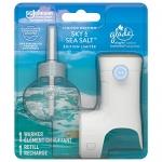Glade Plugins Scented Oil Air Freshener Starter Kit – Sky & Sea Salt