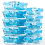 Glass Meal Prep Containers [10 Pack]