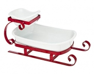 Godinger Silver Art Sleigh 2 Tier Server