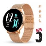 GOKOO Touch Screen Fitness Tracker Bluetooth Smartwatch