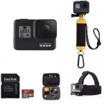 GoPro HERO7 Black Starter Kit with FREE AmazonBasics Accessory Kit