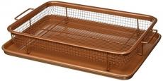 Gotham Steel Crisper Tray, Copper, 12″ x 9″