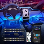 Govee Car LED Lights with App and Remote Control