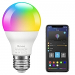 Govee RGB Light Bulbs, Bluetooth Light Bulb A19