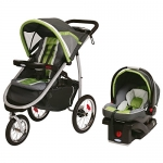 Graco Fast Action Fold Click Connect Jogger Travel System with Snug Ride