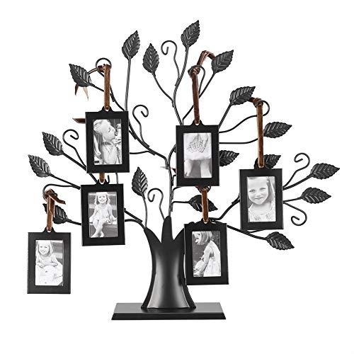Metal Family Tree Photo Display Tree (Tabletop, Small)