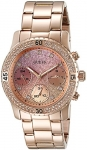 GUESS Women's Stainless Steel Crystal Casual Watch