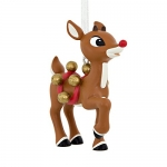Hallmark Rudolph the Red-Nosed Reindeer With Bells Christmas Ornament
