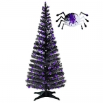 Collapsible Artificial Halloween Black Tree