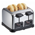 Hamilton Beach 4 Slice Classic Chrome Toaster
