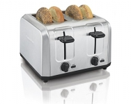 Hamilton-Beach Brushed Stainless Steel 4 Slice Toaster