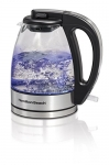 Hamilton-Beach 1.0 L Electric Glass & Stainless Kettle