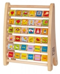 Hape Alphabet Abascus Wooden Counting Toy
