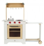 Hape Cook n' Serve Wooden Kitchen Play Set