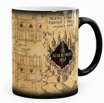 Harry Potter inspired Marauders Map Morphing Mug, color changing, 11 oz