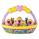 Hatchimals CollEGGtibles Basket with 6 Hatchimals CollEGGtibles