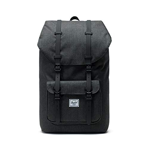 Herschel Little America Backpack, Crosshatch/Black Rubber