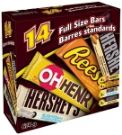 Hershey's Full Size Bar Variety Pack, 14 Count 674 Gram