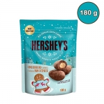 HERSHEY'S Milk Chocolate Coated Almonds, Gingerbread Flavour, 180g