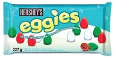 HERSHEY'S EGGIES Christmas Chocolate Candy, 227 Gram