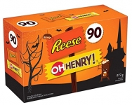 HERSHEY'S Halloween Candy Assortment (Reese, Oh Henry) 90 Count