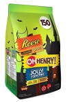HERSHEY'S Halloween Candy Assortment (Reese, Reese's Piece, Oh Henry, Jolly Rancher) 150 Count