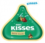HERSHEY'S KISSES with Almonds, 200-Gram