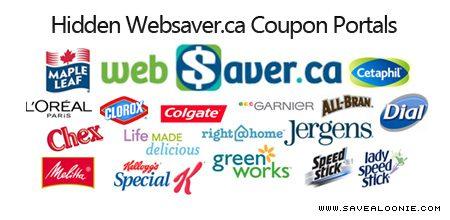 hidden websaver coupons