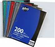 Hilroy Coil 1-subject Wide Ruled Notebook, 200 Pages