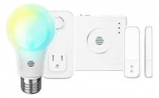 Hive Starter Pack Home Automation Kit, Includes Smart Light Bulbs + Window/ Door Sensor + Motion Sensor + Hive Hub