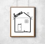 'Home Sweet Home' Print