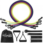 HOMIEE Resistance Band Set, Workout Exercise Set