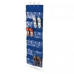 Over The Door Clear Shoe Organizer & Storage