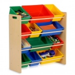 Honey-Can-Do Kids Toy Organizer and Storage Bins